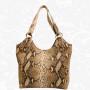 Moderná kožená kabelka so vzorom Pytóna - www.kozeny.sk