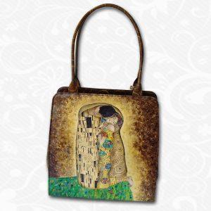 Ručne maľovaná kabelka s exkluzívnym motívom