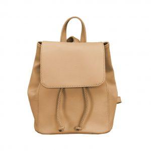 Dámsky módny kožený ruksak pre všetky vekové kategórie s množstvom úložného priestoru, vhodný na nosenie do práce, školy či na cestovanie (1)