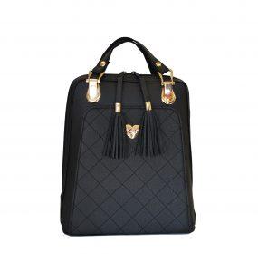 Krásny, exkluzívny kožený ruksak z pravej hovädzej kože