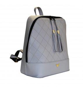 Štýlový dámsky kožený ruksak z prírodnej kože disponuje vynikajúcou kvalitou spracovania materiálu. Do ruksaku zmestíte všetky svoje potrebné veci (1)