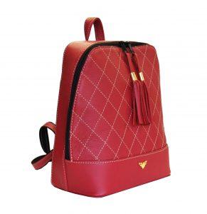 Štýlový dámsky kožený ruksak. S týmto nádherným koženým ruksakom (batohom) budú vaše každodenné rutiny, vaše cesty, vaše prechádzky praktické