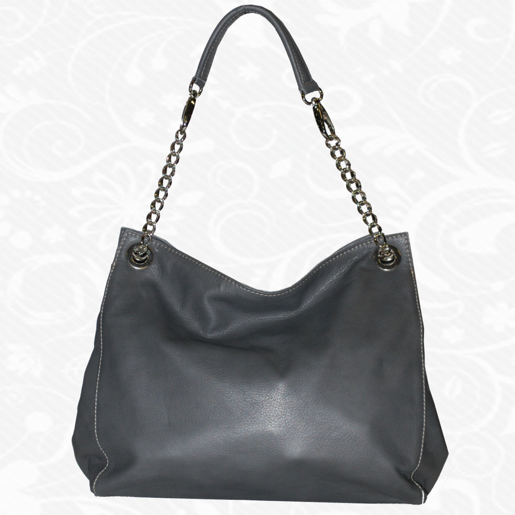 Elegantná kožená kabelka - www.vegalm.sk