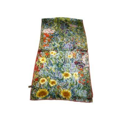 Luxusný hodvábny šál vyrobený z pravého prírodného hodvábu