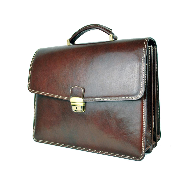 Luxusná kožená aktovka z pravej kože, pánske aktovky, aktovky z kože (2)
