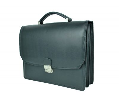 Luxusná kožená aktovka z pravej kože. Kožená aktovka je plochá taška slúžiaca ako elegantné púzdro na uloženie rôznych spisov a dokumentov (3)