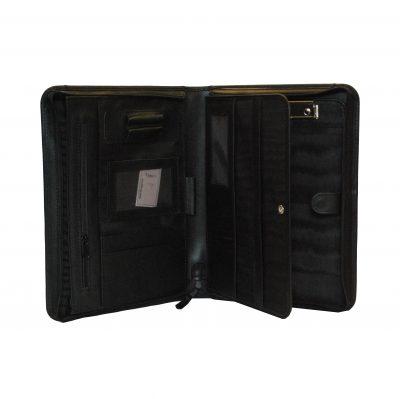 Ručne tamponovaná kožená spisovka. Kožené spisovky pre prehladný a praktický prenos dokumentov, spisov, prezentácií a dalších dokumentov A42