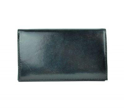Elegantná kožená dokladovka č.8203 v čiernej farbe (2)
