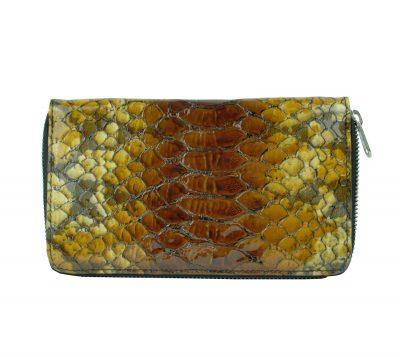 Kožená peňaženka disponuje praktickými priečinkami na doklady a mince. Vhodná ako elegantný a moderný darček. (1)