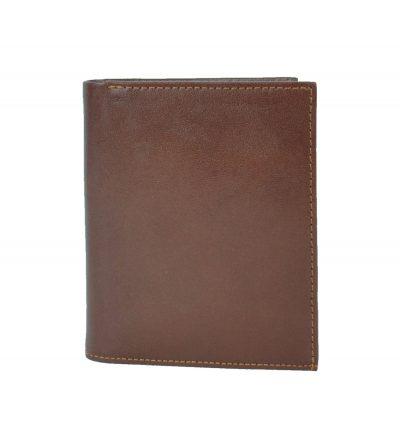 Moderná kožená dokladovka vyrobená z pravej prírodnej kože dovážanej z Talianska (1)