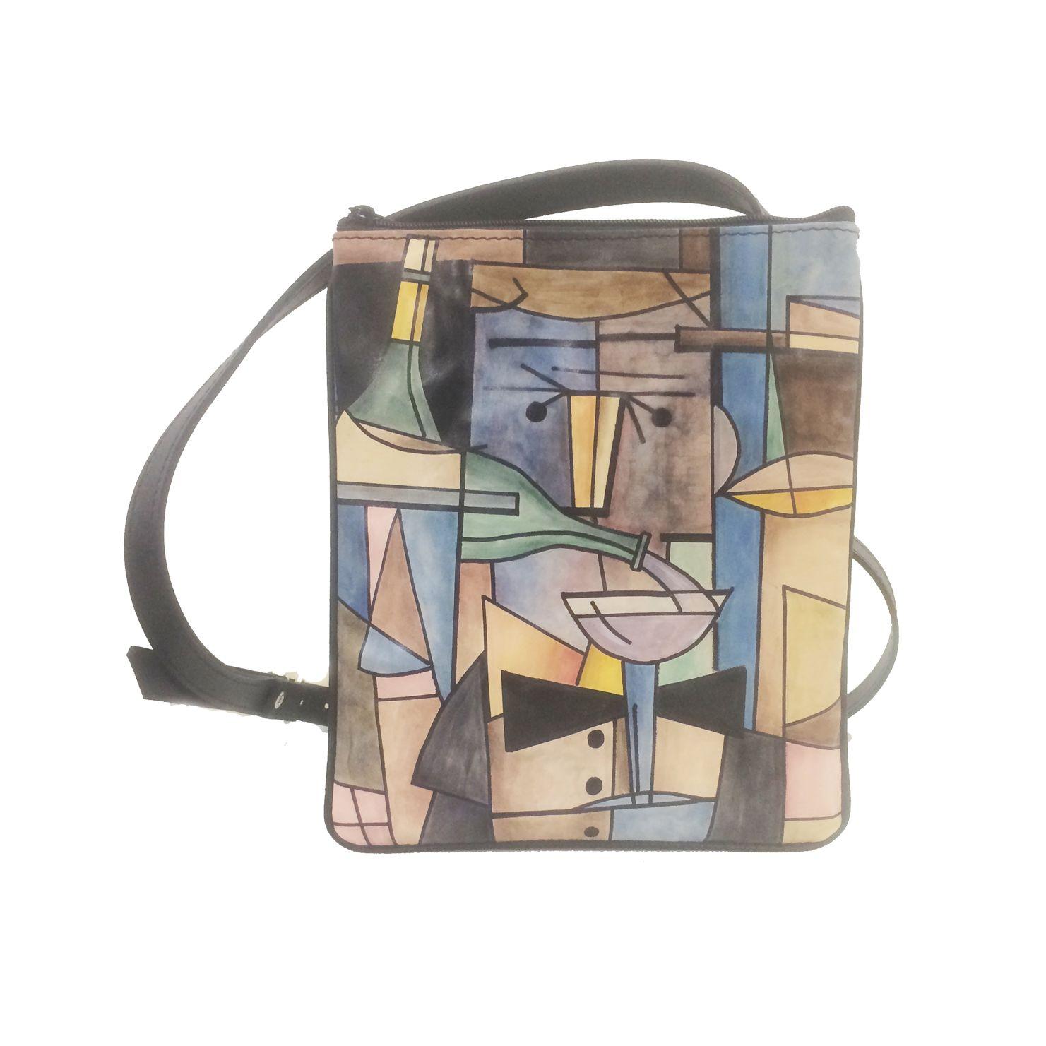 c9c0b809d1 Ručne maľovaná dámska kabelka – crossbody č.8663