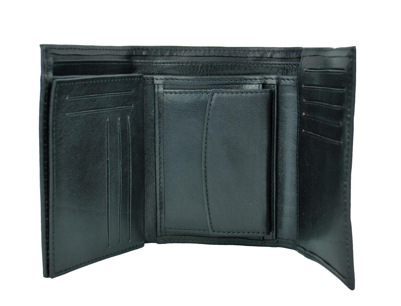 31dcc0f2cc Elegantná peňaženka z pravej kože č.8559 v čiernej farbe. Len u nás Vám