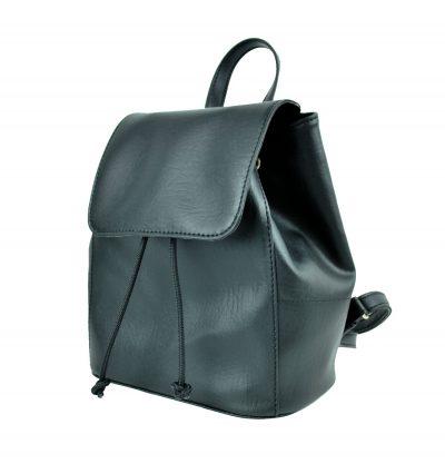 Dámsky módny ruksak 8659k v čiernej farbe (3)