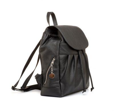 Dámsky módny ruksak 8665k v čiernej farbe (2)