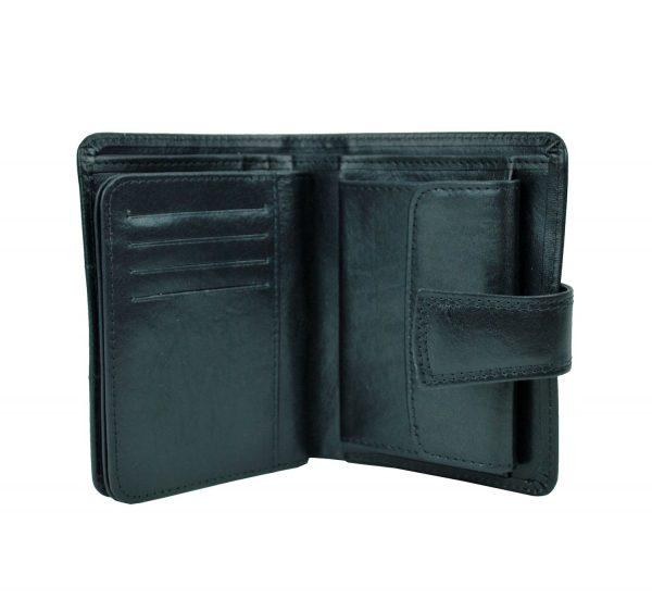 Unisex kožená peňaženka vyrobená z prírodnej kože. Kvalitné spracovanie a talianska koža. Ideálna veľkosť do vrecka a značková kvalita pre náročných (9)