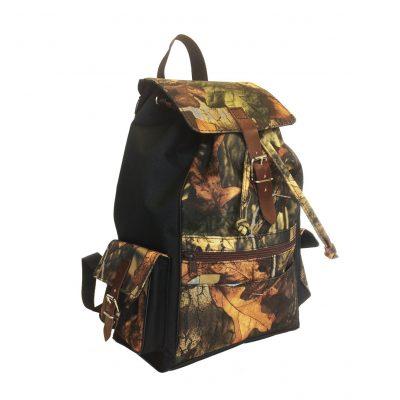 Textilný športový ruksak 8673 s popruhom v čiernej farbe (3)