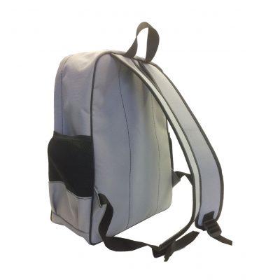 Textilný pánsky ruksak 8670k v šedej farbe (3)
