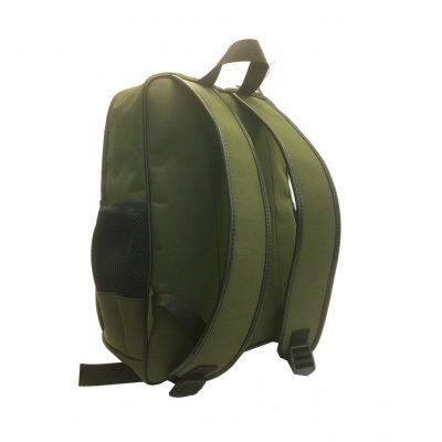 Textilný pánsky ruksak 8670k v zelenej farbe (1)