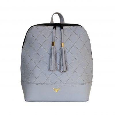 Štýlový dámsky kožený ruksak z prírodnej kože disponuje vynikajúcou kvalitou spracovania materiálu. Do ruksaku zmestíte všetky svoje potrebné veci (2)
