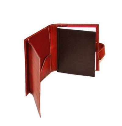 Luxusný kožený pracovný diár v bordovej farbe (limitovaná edícia) (1)
