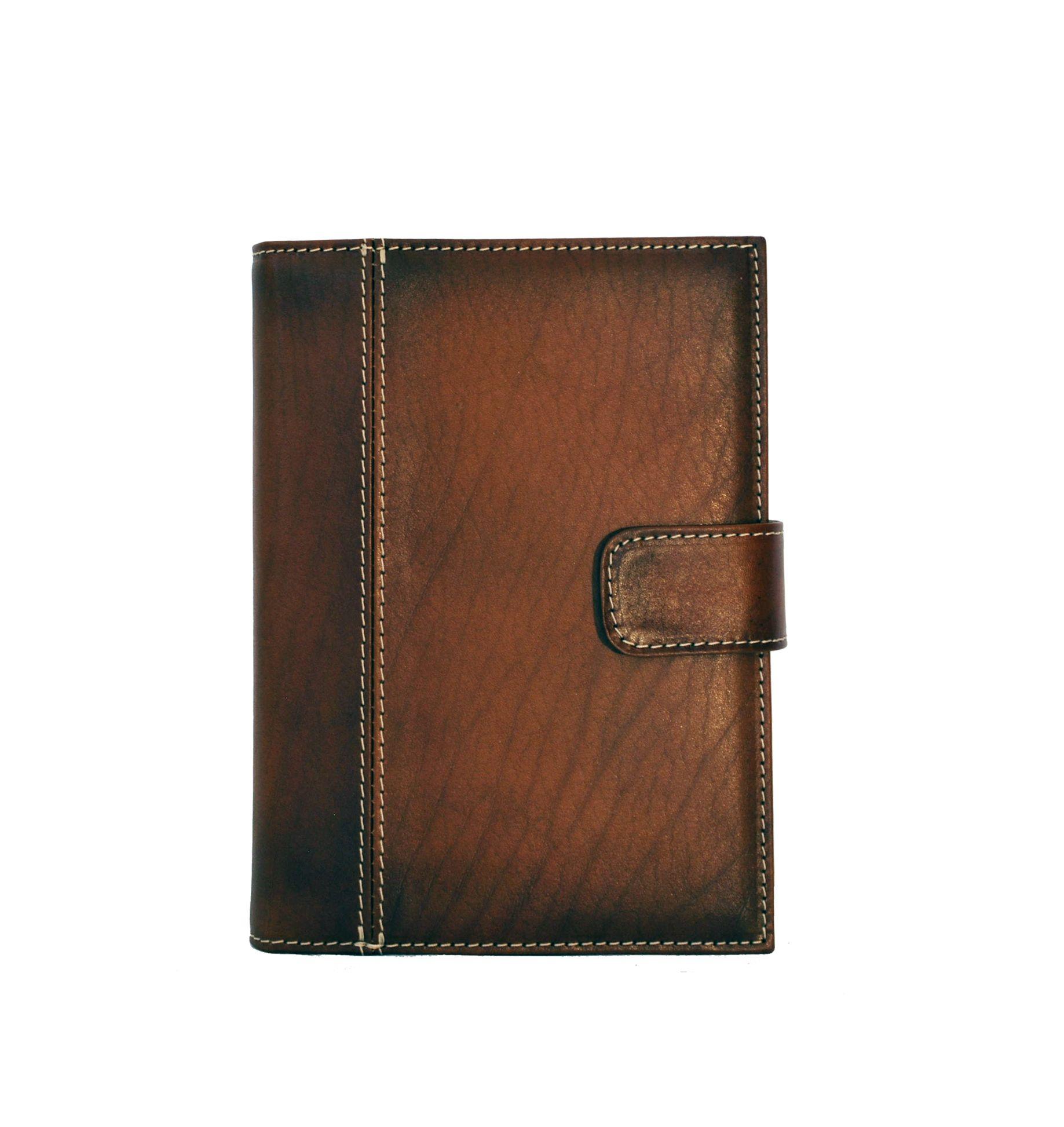 Luxusný kožený pracovný diár v hnedej farbe (limitovaná edícia) (2)