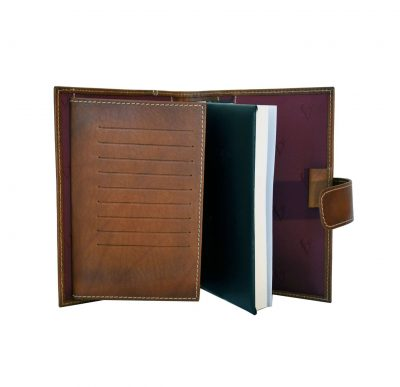 Luxusný kožený pracovný diár v hnedej farbe (limitovaná edícia) (3)