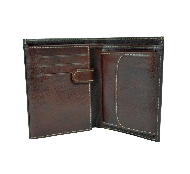 Peňaženka je určená pre tých, ktorí potrebujú kvalitnú koženú peňaženku na každý deň (2)