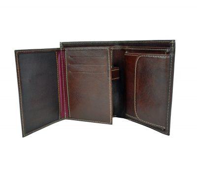 Peňaženka je určená pre tých, ktorí potrebujú kvalitnú koženú peňaženku na každý deň (3)