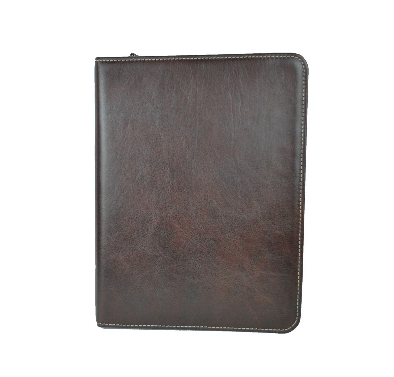 Elegantná kožená spisovkapre prehľadný a praktický prenos dokumentov, spisov, prezentácií a ďalších dokumentov A4 sa stávajú nepostrádateľným pomocníkom (1)