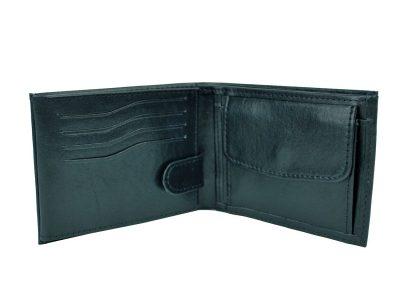 Elegantná peňaženka z pravej kože č.8552 v čiernej farbe. Len u nás Vám ponúkame krásne a dizajnovo moderné dámske a pánske kožené peňaženky (2)