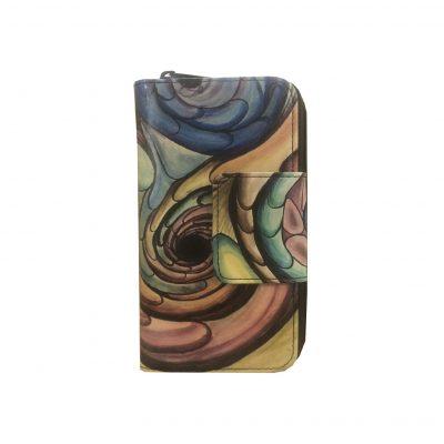 Ručne-maľovaná-kožená-peňaženka.-Peňaženka-je-neopakovateľný-originál-s-nádhernou-maľbou.-3