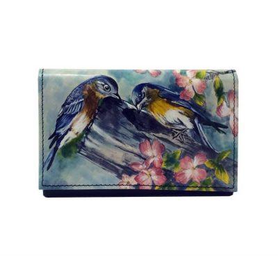 Ručne-maľovaná-peňaženka-8542-s-motívom-Vtáci