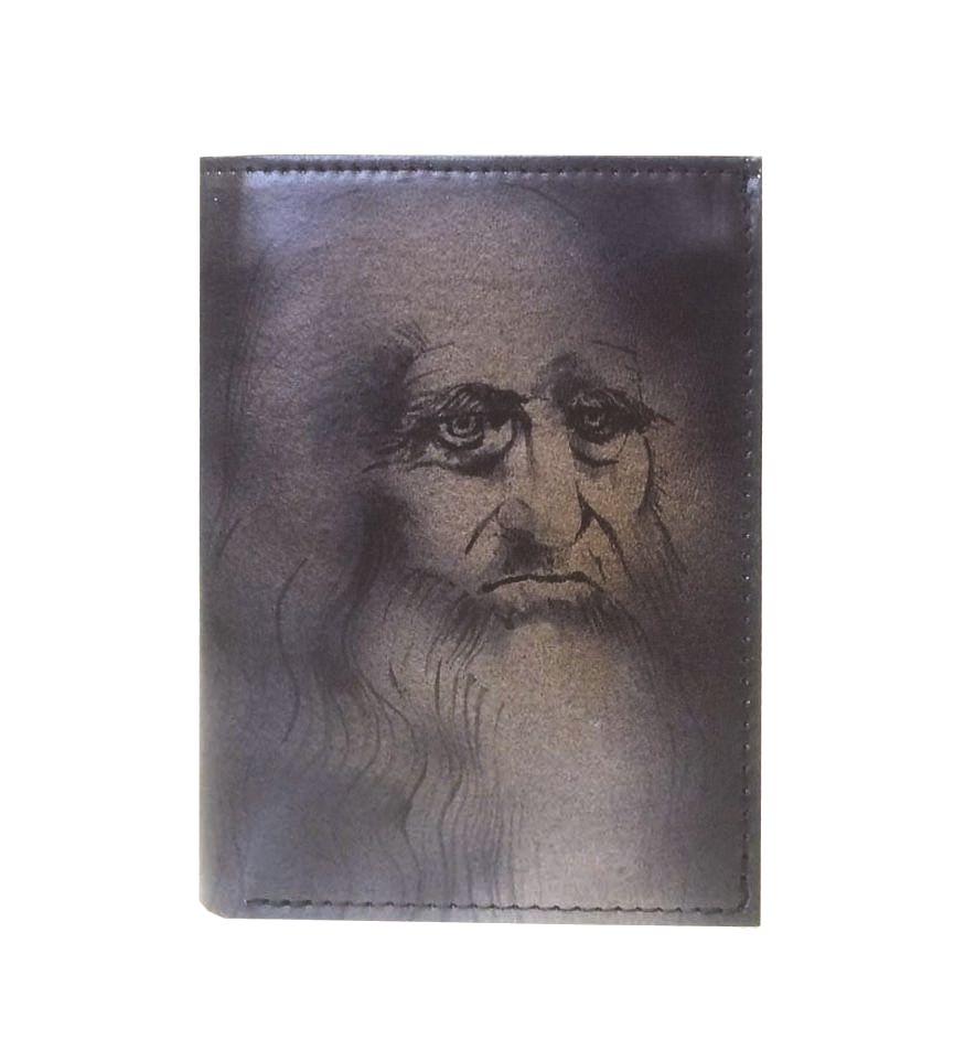 Ručne-maľovaná-peňaženka-8560-inšpirovaná-motívom-Leonardo-da-Vinci