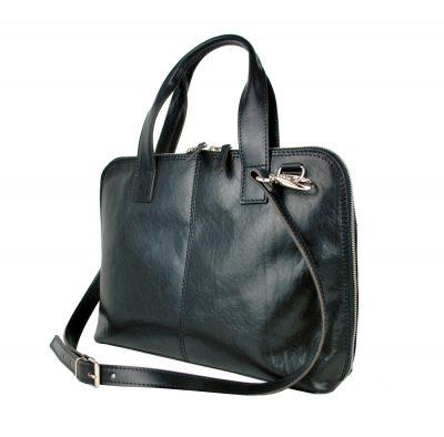 Dámska kožená kabela, pracovná kabela, taška do práce, kožená kabela na dokumenty (2)