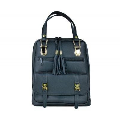 unisex ruksak, prírodný batoh, na cestovanie a turistiku, ruksak z kože, pánsky a dámsky batoh, čierny ruksak, čierny batoh (1)
