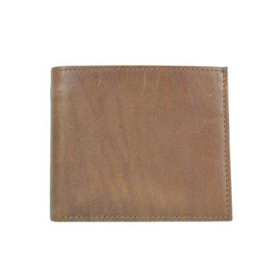 Luxusná peňaženka z pravej kože č.7942 v hnedej farbe (2)