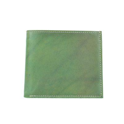Luxusná peňaženka z pravej kože č.7942 v zelenej farbe (2)