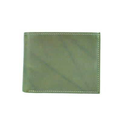 Pánska peňaženka z pravej kože č.8406 v zelenej farbe (2)