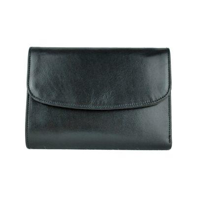 Kožená dámska peňaženka z prírodnej usne. Nezabúdajte, že kvalitná a moderná peňaženka vytvára o vás predstavu na ktoromkoľvek mieste, kde ju použijete (1)