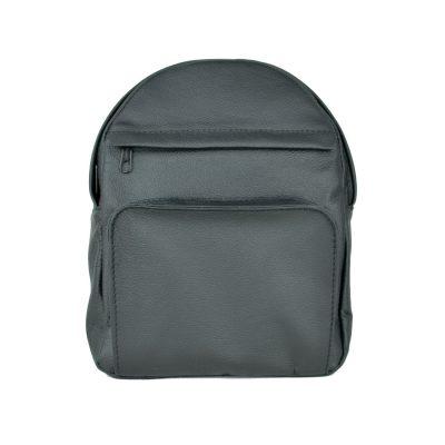 Kožený batoh z prírodnej kože, čierna farba (1)