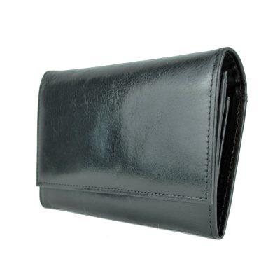 Luxusná dámska kožená čierna peňaženka č.7946 z prírodnej kože (2)
