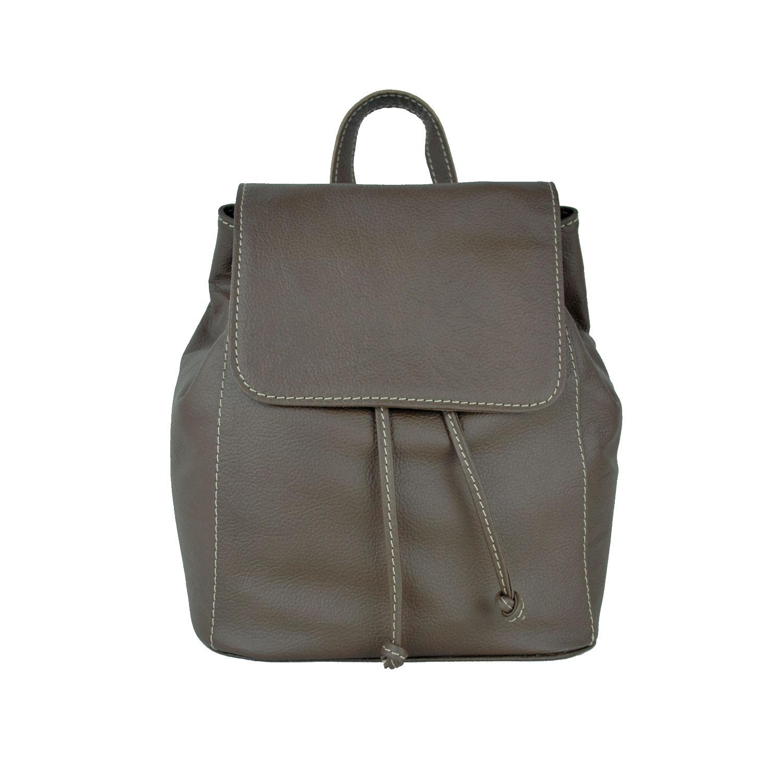2cb333c9c2 Moderný kožený ruksak z pravej hovädzej kože č.8659 v hnedej farbe (3)