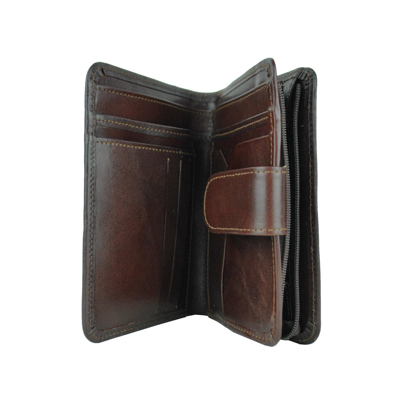 f4a08bd62 Dámska praktická kožená peňaženka č.8503 v hnedej farbe