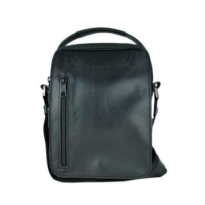 Luxusná kožená etuja č.8400, lesklá hladká koža v čiernej farbe (2)