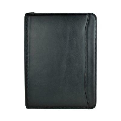 Elegantná kožená spisovka č.7988 v čiernej farbe