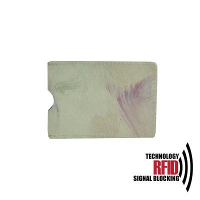 Ochranné kožené púzdro na debetné a kreditné karty, maľované (1)
