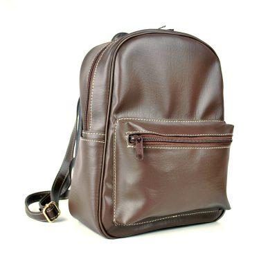 Dámsky praktický ruksak 8672k v hnedej farbe