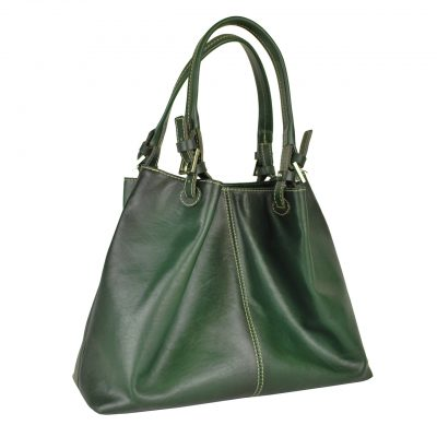 Dámska kožená kabelka SHOPPER.